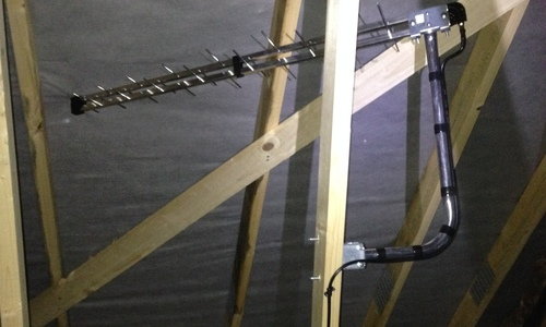 how to add a tv aerial